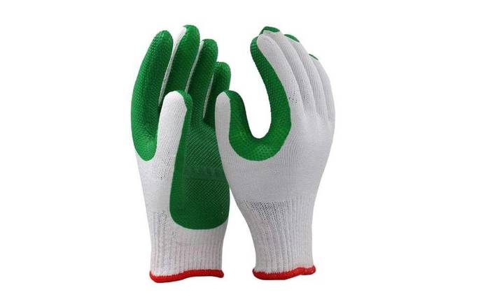 RUBBER LAMINATED GLOVES